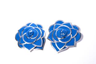 Květinová ozdoba FLOX modrá