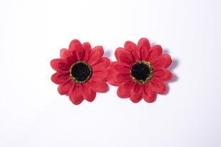 Květinová ozdoba FLOX gerbera červená