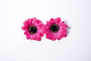 Květinová ozdoba FLOX gerbera růžová