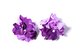 Květinová ozdoba FLOX hortenzie fialová