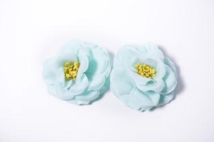 Květinová ozdoba FLOX kamélie modrá
