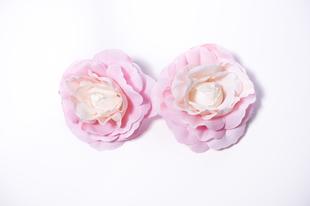 Květinová ozdoba FLOX kamélie růžová