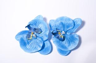 Květinová ozdoba FLOX orchidej modrá