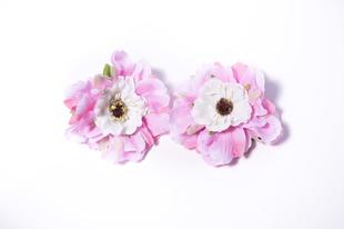 Květinová ozdoba FLOX sakura růžovo bílá