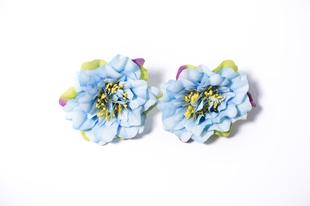 Květinová ozdoba FLOX fialka modrá