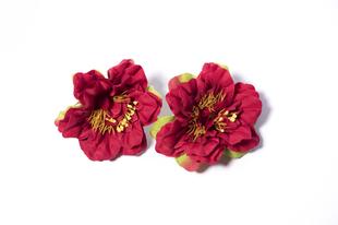 Květinová ozdoba FLOX fialka červená