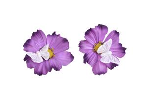 Květinová ozdoba FLOX krásenka s motýlem