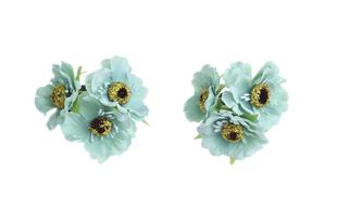 Květinová ozdoba FLOX sakura tyrkysová