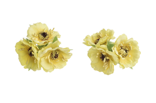 Květinová ozdoba FLOX sakura žlutá