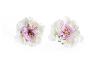 Květinová ozdoba FLOX sakura bílo růžová